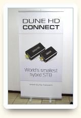 Ролл-ап Dune HD Connect