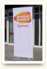Ролл-ап Bandai Namco Games